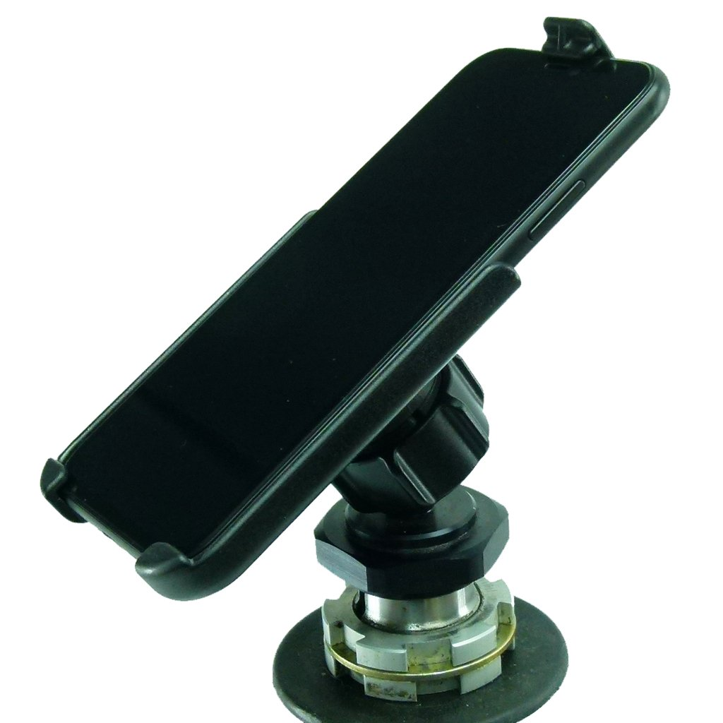 Yoke 60 Motorcycle Nut Mount fits Triumph Sprint ST, Triumph Tiger 1050 & Triumph Sprint GT with Dedicated RAM Holder for iPhone 11 (sku 50303) - BuyBits Ltd UK