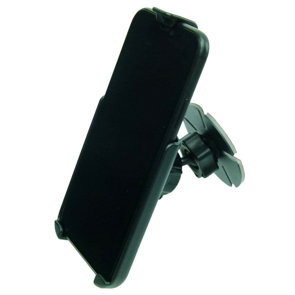 Motorcycle Windshield Adhesive Stick On Mount with Dedicated RAM Holder for iPhone XR (sku 50324) - BuyBits Ltd UK