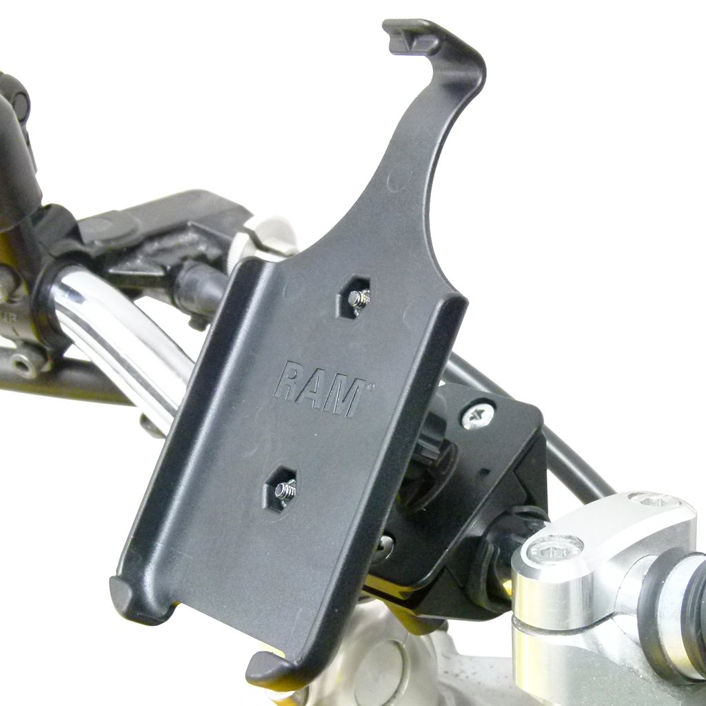 Motorcycle Handlebar Mount with Dedicated RAM Holder for iPhone 6 (sku 50458) - BuyBits Ltd UK