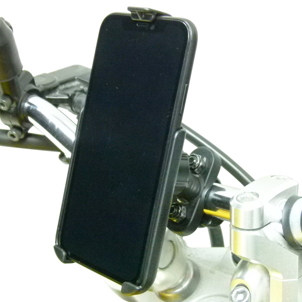 Motorbike Metal U Bolt Mount Kit with Dedicated RAM Holder for iPhone 8 PLUS (sku 50364) - BuyBits Ltd UK