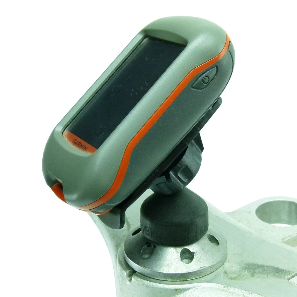 BuyBits 12mm Hexagon GPS Mount for Garmin inReach Mini - Explorer + Devices fits Honda Blackbird & Kawasaki Motorcycles (sku 50639) - BuyBits Ltd UK