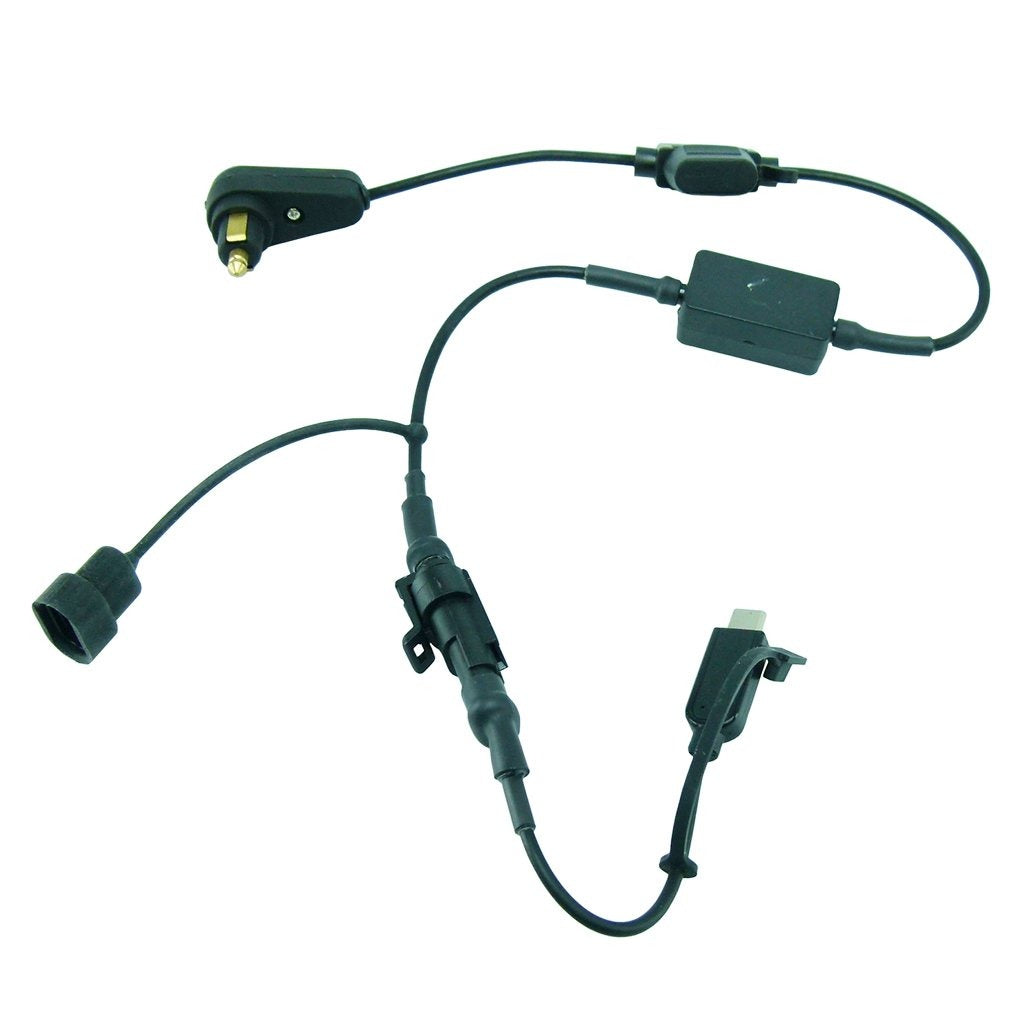BuyBits Hella - DIN Motorcycle Shorter Charging Cable for Samsung Galaxy S10 PLUS (sku 50696) - BuyBits Ltd UK