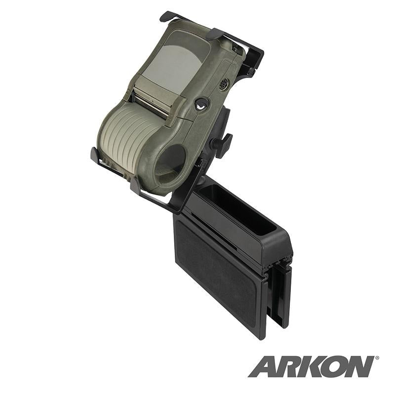 Arkon PPTAB1SEATMT Mobile Portable Printer Car Truck Seat Wedge Mount for Zebra, Epson, Brother Printers (sku 50230) - BuyBits Ltd UK