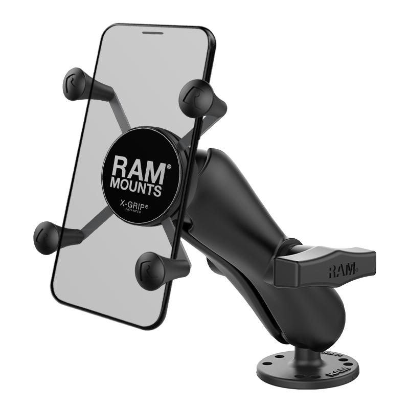 RAM X-Grip Phone Holder with Flat Surface Mount (RAM-138-UN7U) (sku 50933) - BuyBits Ltd UK