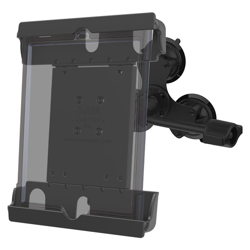 "RAM Tab-Tite Mount with RAM Twist-Lock Triple Suction for 9"" Tablets (RAM-333-224-1-ALA1-TAB20U) (sku 51008) - BuyBits Ltd UK"