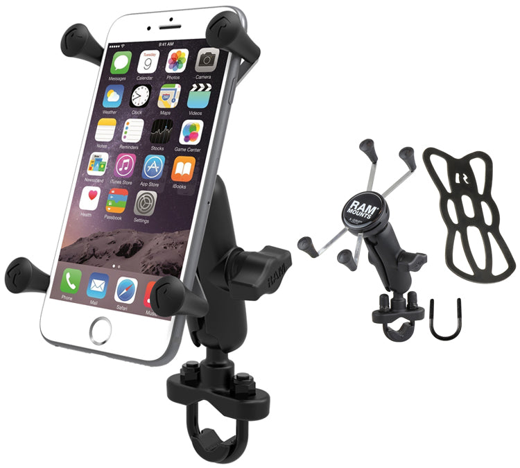 RAM-B-149Z-UN10 X-Grip Motorcycle Bike Handlebar Mount for Samsung Galaxy Note 7 (sku 35551)