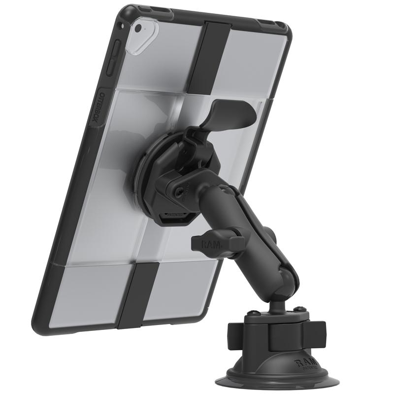 RAM Twist-Lock Suction Cup Mount for OtterBox uniVERSE iPad Cases (RAM-B-166-OT3U) (sku 51062) - BuyBits Ltd UK