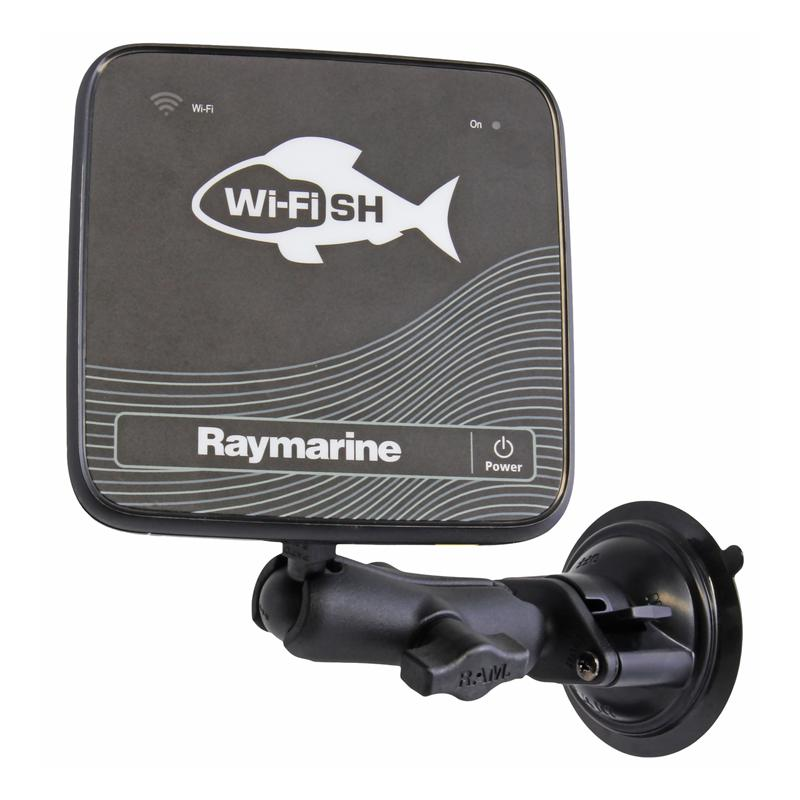 RAM Twist-Lock Suction Cup Mount for Raymarine Dragonfly (RAM-B-224-1-379-M616U) (sku 54652) - BuyBits Ltd UK