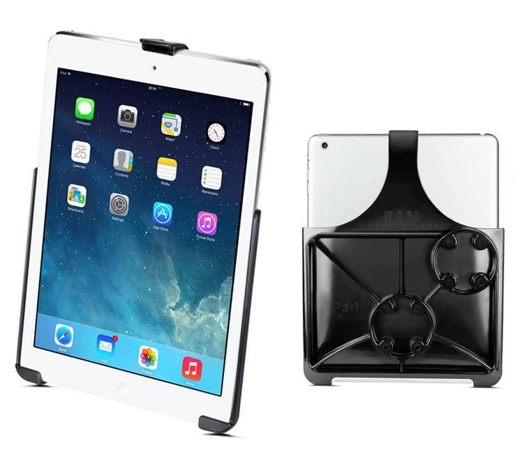 Dedicated Robust Double Windshield Suction Mount for Heavy Machinery fits iPad AIR (sku 50257) - BuyBits Ltd UK