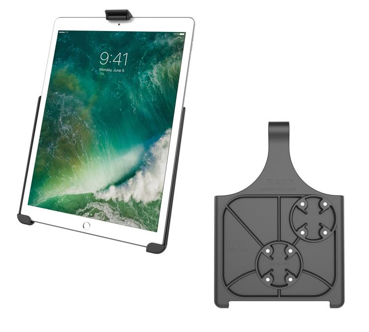 Extended Dedicated Golf Trolley Robust Clamp Tablet Holder for iPad Mini 1-3 (sku 49642) - BuyBits Ltd UK