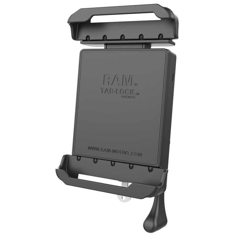 "RAM Tab-Lock Spring Loaded Holder for 7-8"" Tablets with Cases (RAM-HOL-TABL23U) (sku 51031) - BuyBits Ltd UK"
