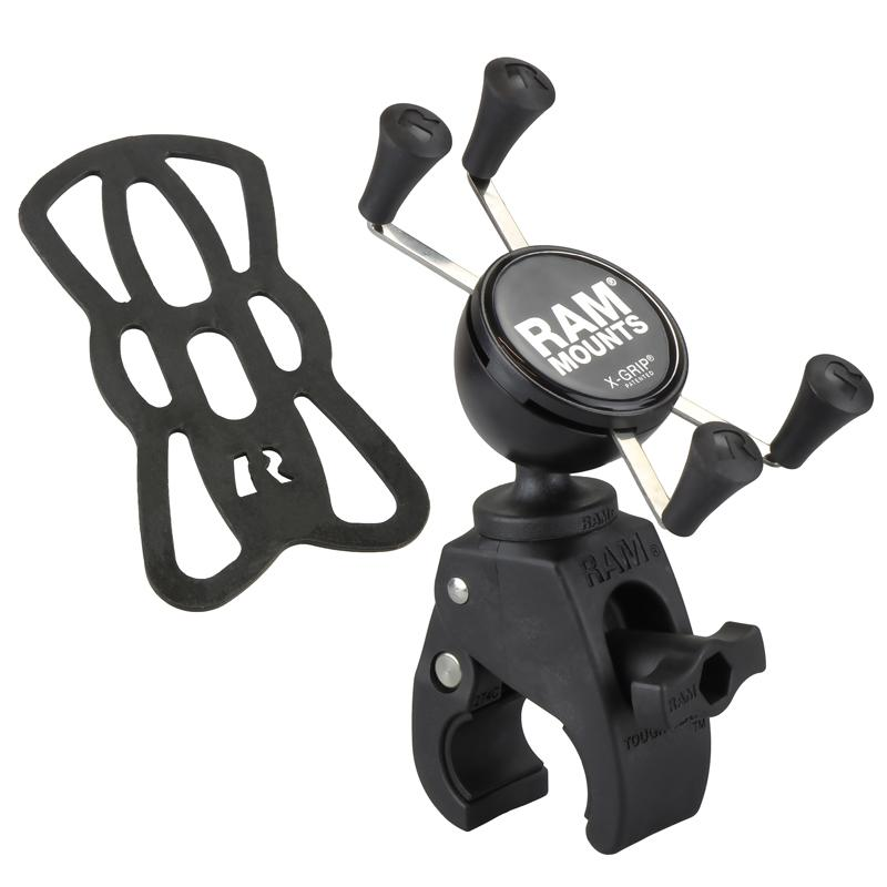 RAM X-Grip Phone Mount with Snap-Link Tough-Claw (RAM-HOL-UN7-400U) (sku 50910) - BuyBits Ltd UK