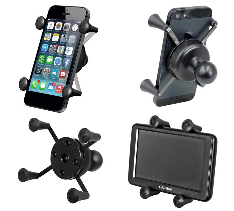 Motorcycle M8 Mount X-Grip for Mobile devices and Extended GoPro camera mount (sku 50146) - BuyBits Ltd UK