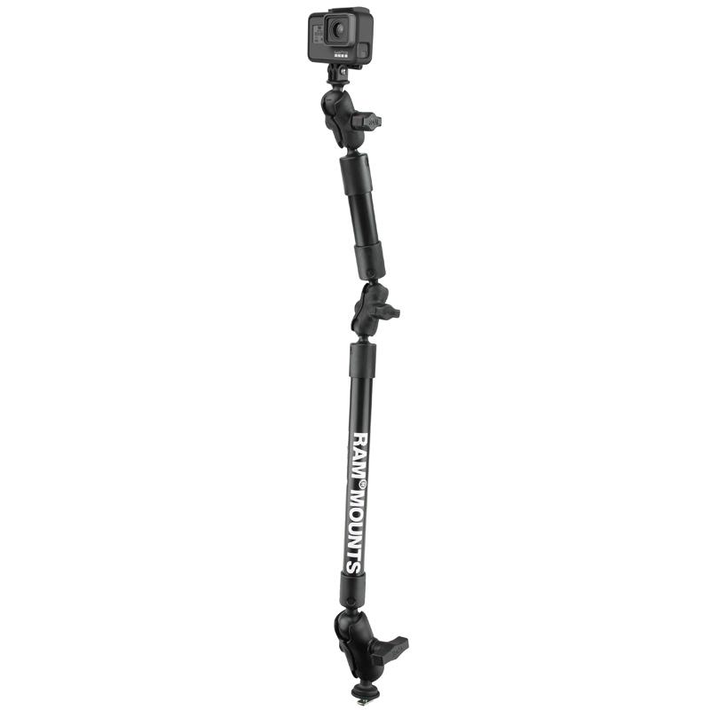 "RAM Tough-Pole 31"" Camera Mount with RAM Track Ball Base (RAP-354-TRA1-12-4-A-GOP1) (sku 51143) - BuyBits Ltd UK"