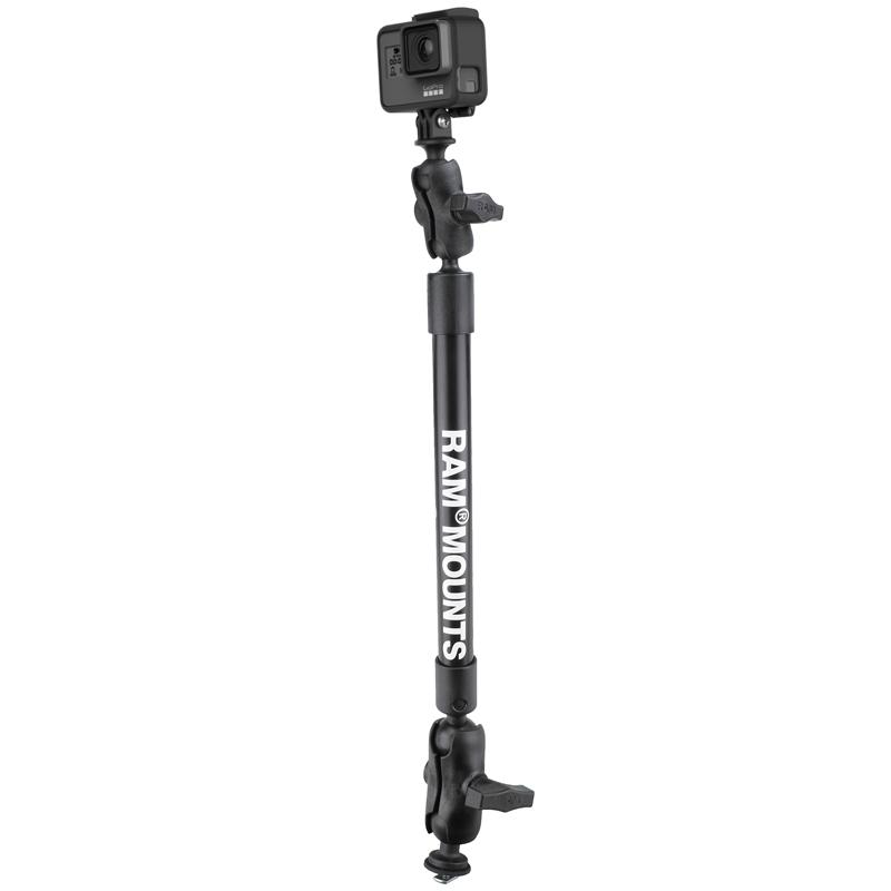 "RAM Tough-Pole 22"" Camera Mount with RAM Track Ball Base (RAP-354-TRA1-12-A-GOP1) (sku 51140) - BuyBits Ltd UK"