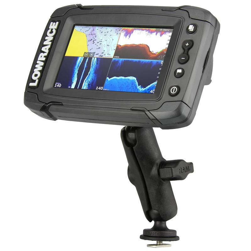 RAM Track Ball Mount for Lowrance Elite-4 & Mark-4 Series (RAP-B-202-LO11-354-TRA1U) (sku 53775) - BuyBits Ltd UK