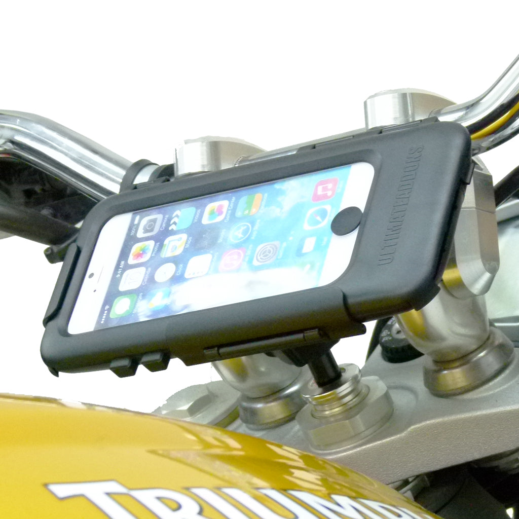 15mm - 17mm Sports Motorcycle Fork Stem Tough Case Mount for iPhone 6S (sku 45009)