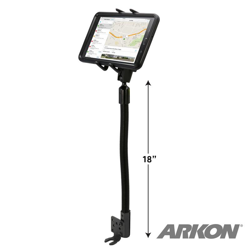 Arkon SM6RM8825AL Heavy-Duty Phone or Midsize Tablet Seat Rail or Floor Mount (sku 50212) - BuyBits Ltd UK