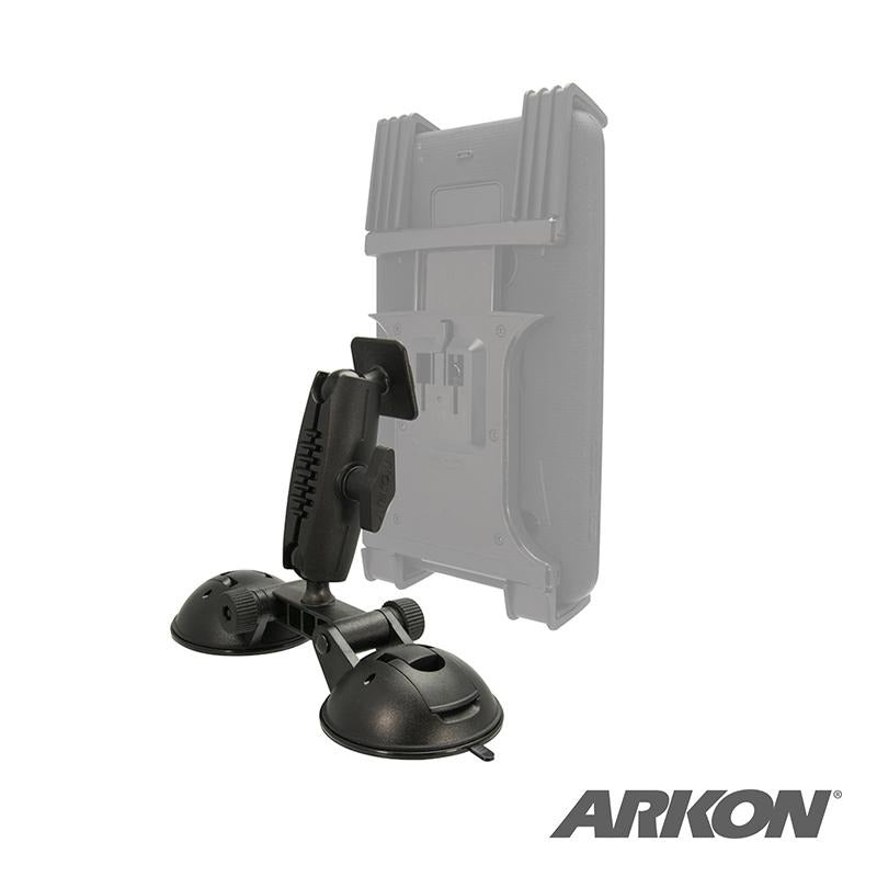 Arkon RM2X802T Robust Double Windshield Suction Mount – Dual-T Compatible (sku 50235) - BuyBits Ltd UK