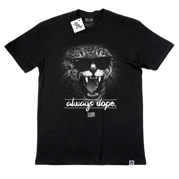 Rebul Collection Black T-Shirt Always Dope