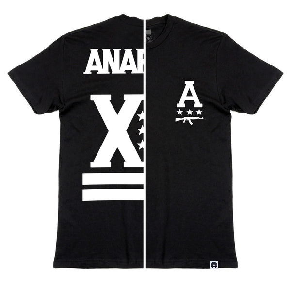 Rebul Collection Black T-Shirt Anarchy
