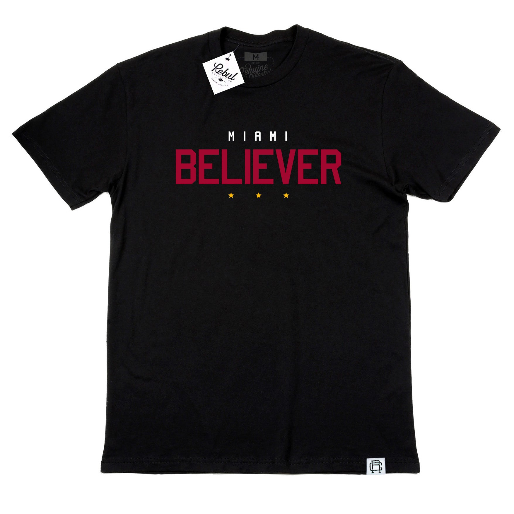 Rebul Collection Miami Heat Believer T-Shirt Black