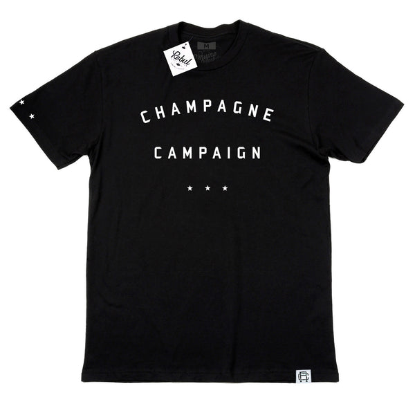Rebul Collection Champagne Campaign Black T-Shirt