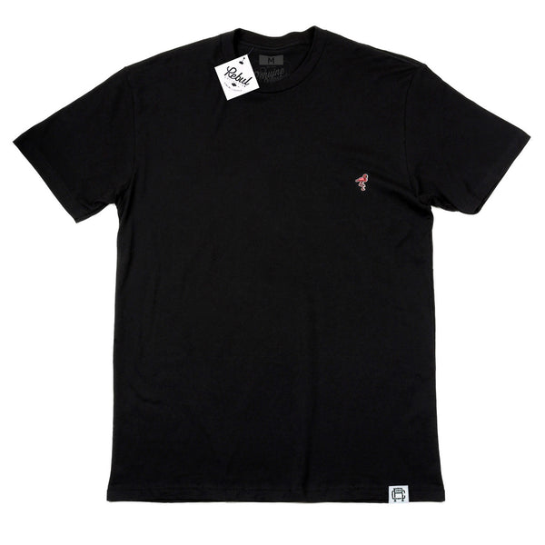 Rebul Collection Black T-Shirt Flamingo Patch