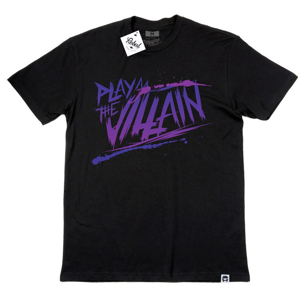 Rebul Collection Black T-Shirt Play The Villain