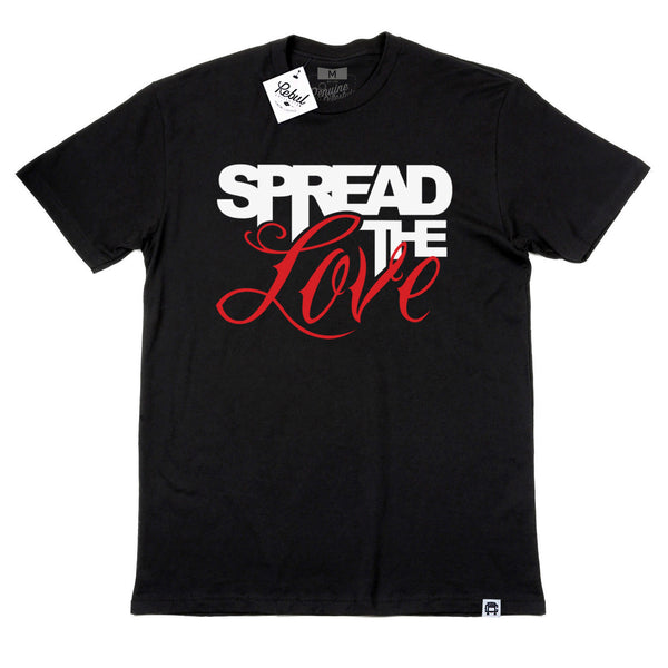 Rebul Collection Black T-Shirt Spread The Love