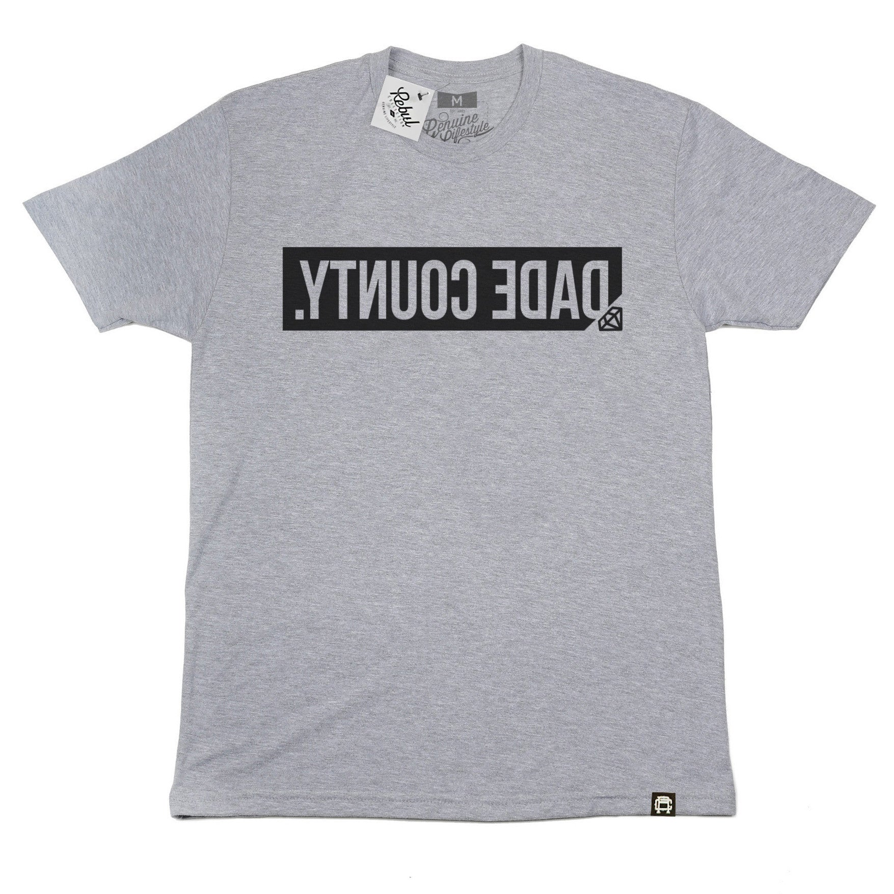 Rebul Collection Heather Gray Dade County T-Shirt