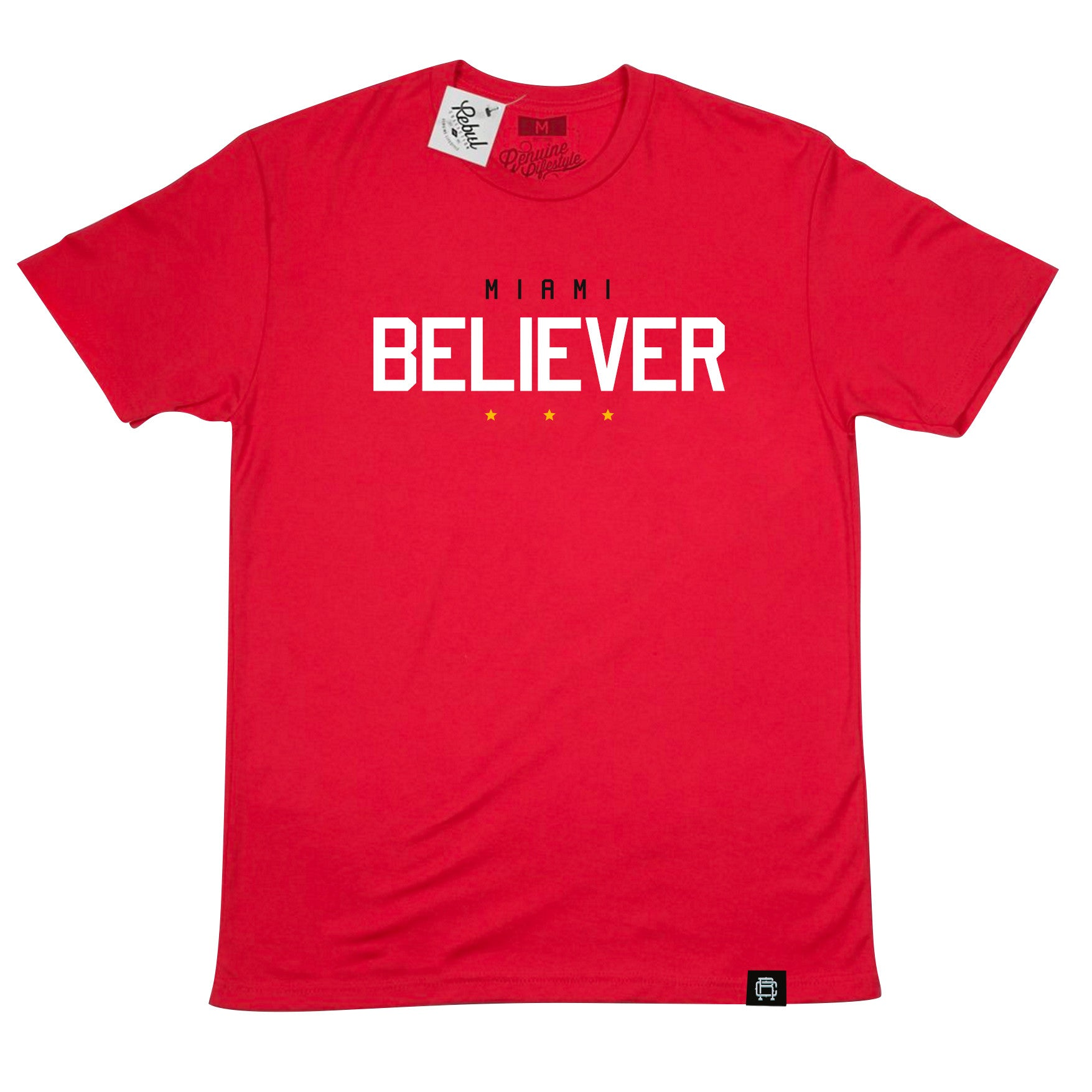 Rebul Collection Miami Heat Believer T-Shirt Red
