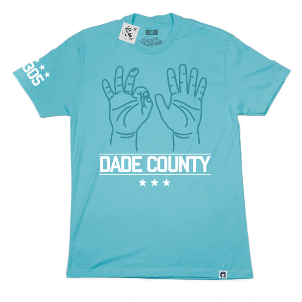 Rebul Collection 305 X Dade County Born and Raised T-shirt