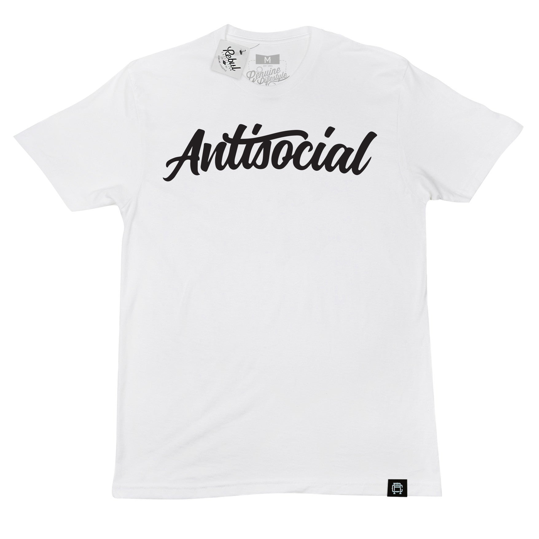 Rebul Collection Antisocial Social Club T-Shirt Miami