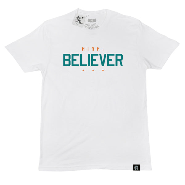 Rebul Collection Miami Dolphins Believer T-Shirt