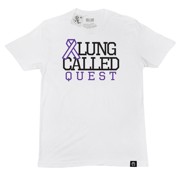 A Lung Called Quest (COTA) - Andres Perez white t-shirt
