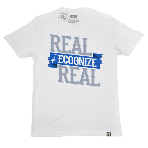 Rebul Collection White T-Shirt Real Recognize Real