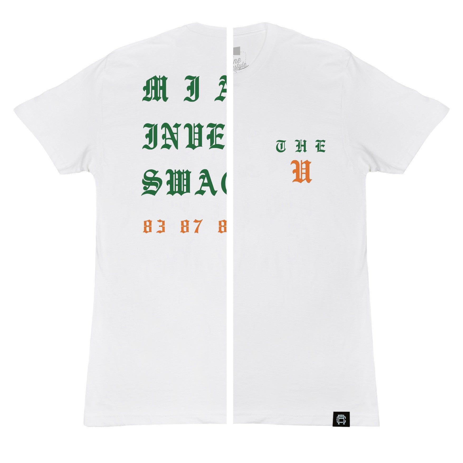 Rebul Collection The U University of miami t-shirt yeezy