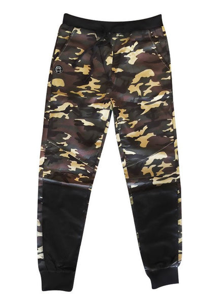 Rebul Collection Camo Joggers Leather Camouflage