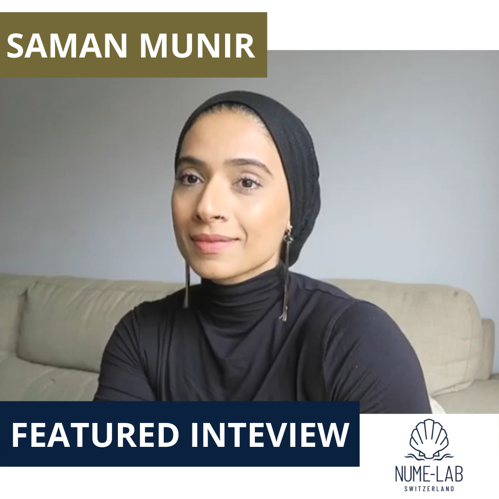 Saman Munir Video Interview on NUME-Lab Product Line