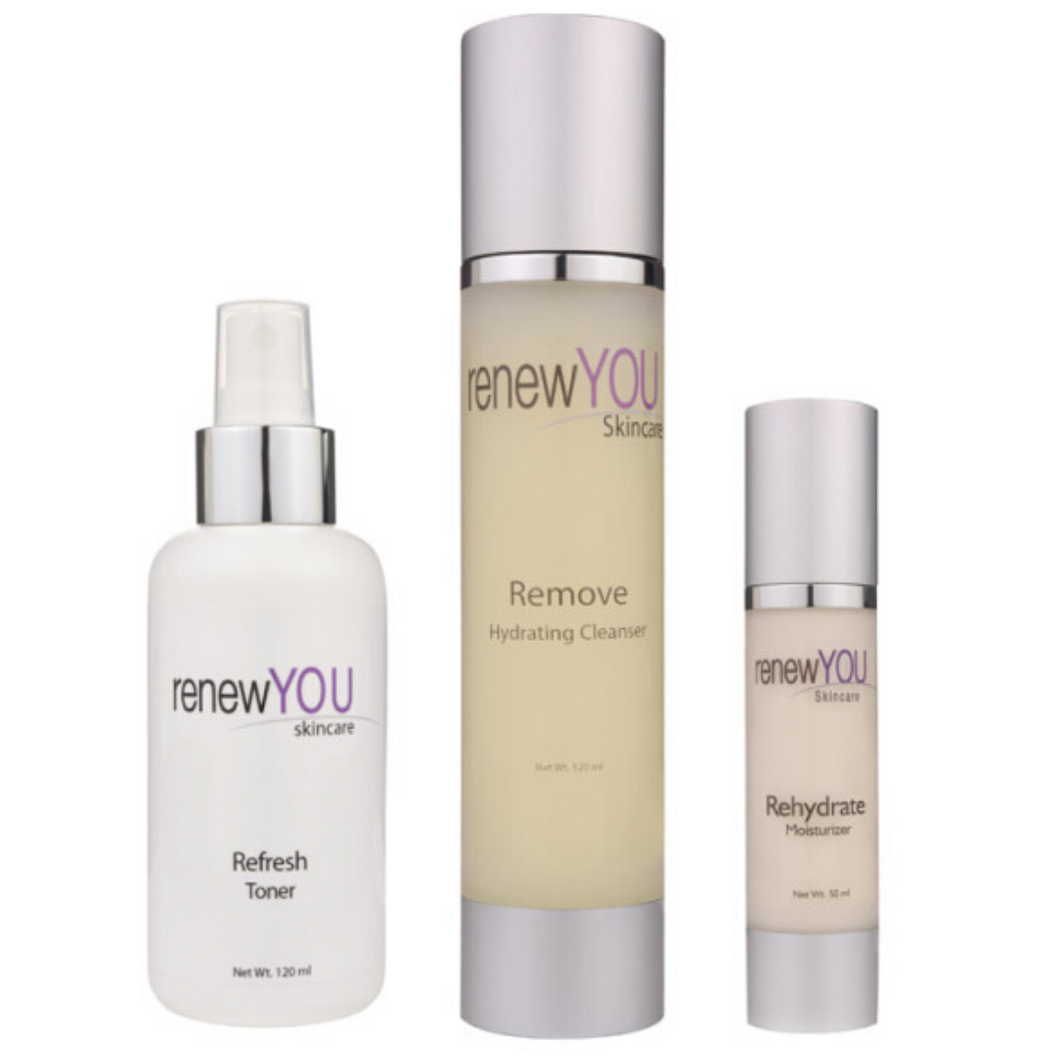 Cleanse, Tone and Moisturise Trio