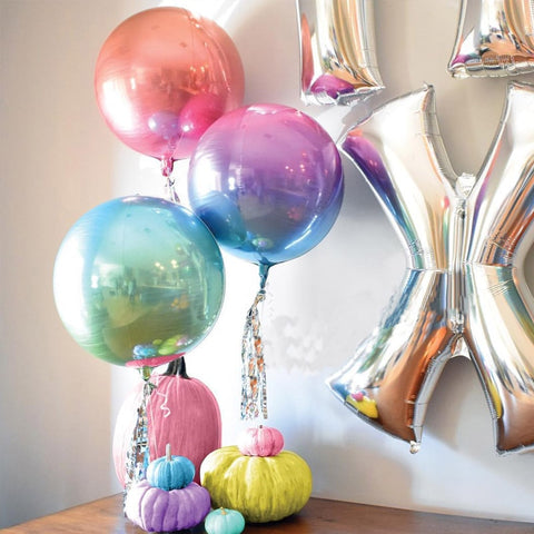 "22"" Metallic Gradient Balloons - The Balloon Diaries"