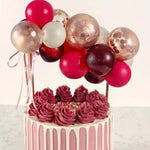 10pc Balloon Cake Toppers - The Balloon Diaries