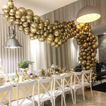 "10"" Chrome Latex Balloon Arch - 50 or 100pc set - The Balloon Diaries"