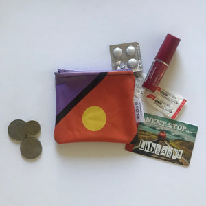Small Purse made from Recycled Pool Inflatables