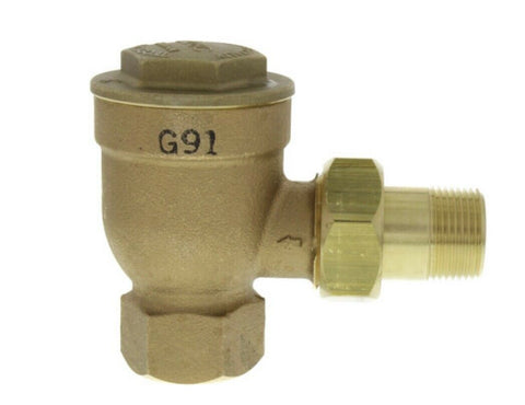"HOFFMAN 8C-A-3-125-3/4 3/4"" ANGLE THERMOSTATIC TRAP 197219"