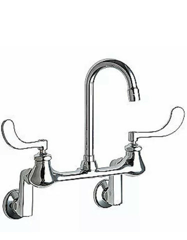 Gooseneck,Chrome,Chicago Faucets,631, 631-RABCP