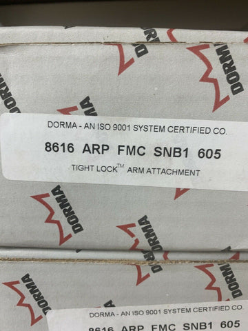DORMA An ISO 9001 System Certified 8616 ARP Fmc Snb1 606