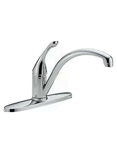 Delta Classic Single Handle Kitchen Faucet, Chrome, 140-DST