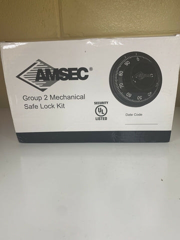 Amsec Group 2 Mechanical Safe Lock Kit